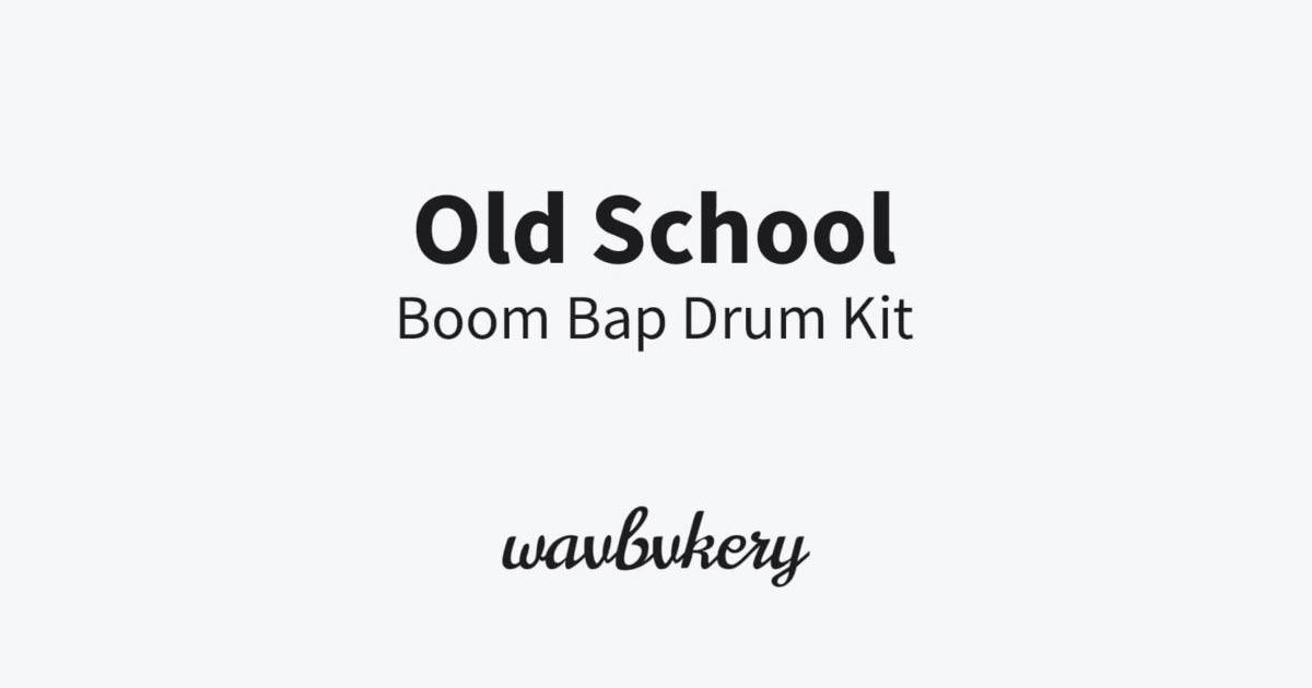 Free Boom Bap Drum Kit