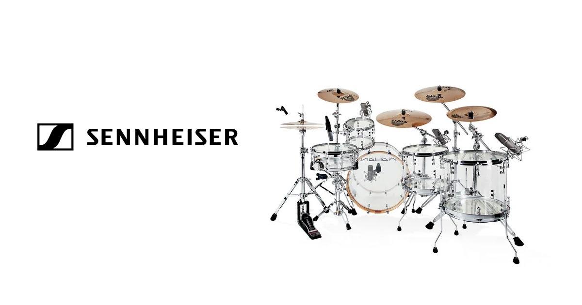 Sennheiser Drummica Drum Kit Samples